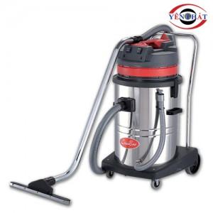 Máy hút bụi hút nước thân inox CB60-2 60L