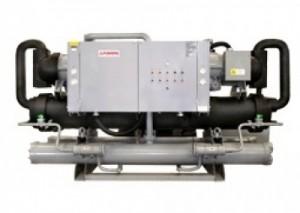 Máy làm lạnh nước chiller trục vít-2 đầu- nước giải nhiệt