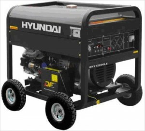 Máy phát điện Diesel Hyundai DHY 12000LE-3