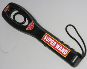 Máy dò cầm tay Super Wand