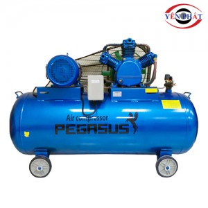 Máy nén khí dây đai Pegasus TM-V-0.6/8-330L (220V)