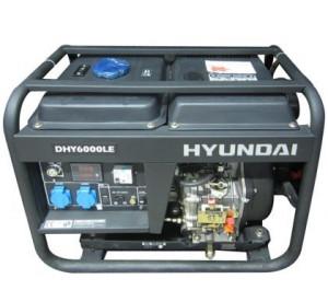 Máy phát điện chạy dầu Diesel Hyundai DHY 6000LE