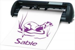 Máy cắt decal Sable SB-60