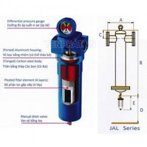 Bộ lọc khí nén Jmec JAL-200L