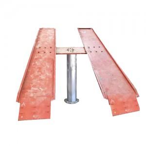 Cầu nâng 1 trụ rửa xe ô tô bàn nổi