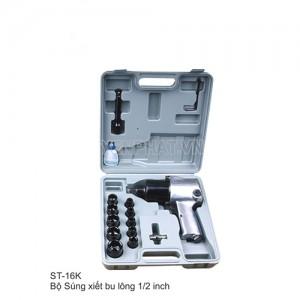 """Súng xiết ốc khí nén Starex ST-16 KIT (1/2"""") kèm khẩu"""