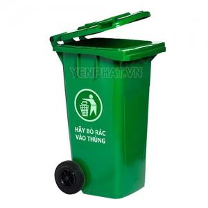 Thùng rác nhựa 100 lít bánh xe