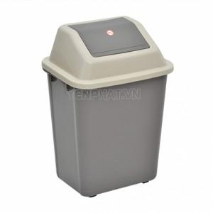 Thùng rác nhựa 45 lít nắp lật