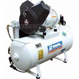 Máy nén khí không dầu Swan PV-202-50DH (60HZ)