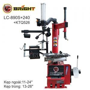 Máy ra vào lốp mâm to Bright LC-890S+240+KTQ526