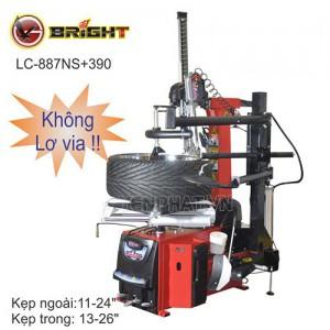 Máy ra vào lốp không lơ via Bright LC-887NS+390