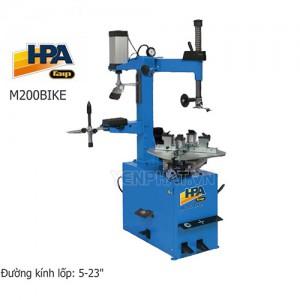 Máy ra vào lốp xe máy bán tự động HPA M200BIKE