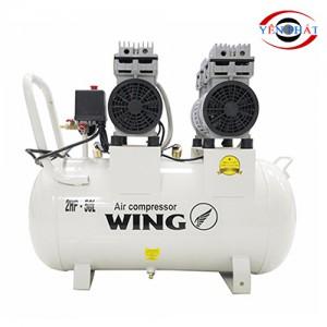 Máy nén khí mini không dầu giảm âm Wing TW-OF750X2-50