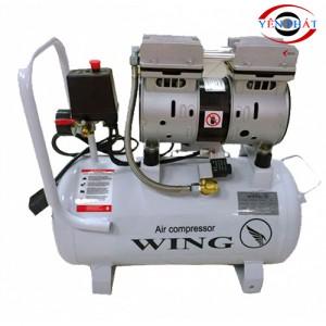 Máy nén khí mini gia đình không dầu giảm âm Wing TW-OF550-25L
