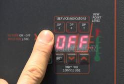 Quy trình vận hành máy sấy khí đúng chuẩn