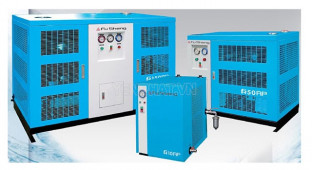 Các cách phân loại máy sấy khí công nghiệp