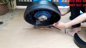 Hướng dẫn lắp đặt máy chà sàn tạ an toàn, đúng chuẩn