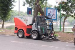 Vai trò của xe quét đường đối với môi trường đô thị
