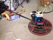 Cấu tạo và cách sử dụng máy xoa nền bê tông