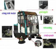 Cấu tạo xe quét đường hút rác và nguyên lý hoạt động của xe quét rác