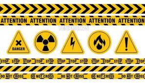 Tổng hợp các biển báo nguy hiểm trong nhà máy, nhà xưởng