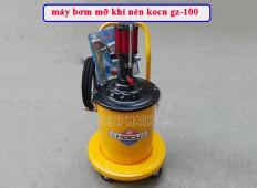 Đánh giá chi tiết máy bơm mỡ khí nén kocu gz-100 có tốt không