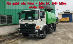 Đánh giá xe quét rác Hino và top xe quét đường Hino bán chạy nhất