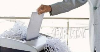 Máy hủy giấy dạng sợi là gì? Tìm hiểu ưu, nhược điểm