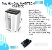 Máy hủy tài liệu Magitech DM-120C có những ưu điểm gì?