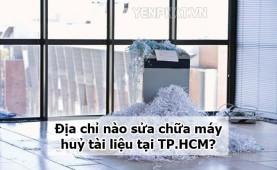 Những lỗi thường gặp và địa chỉ sửa máy huỷ giấy tại TPHCM