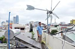Máy phát điện gió mini: Cấu tạo, nguyên lý, ưu - nhược điểm, phân loại