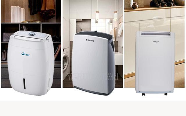 các loại máy hút ẩm gia đình
