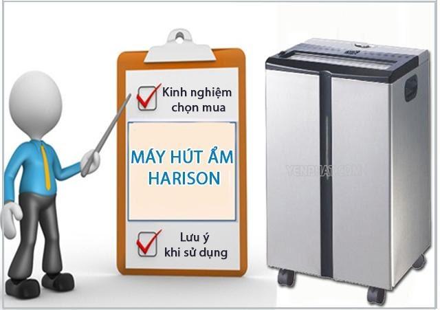 lưu ý khí sử dụng máy hút ẩm Harison