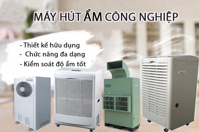 các dòng máy hút ẩm công nghiệp