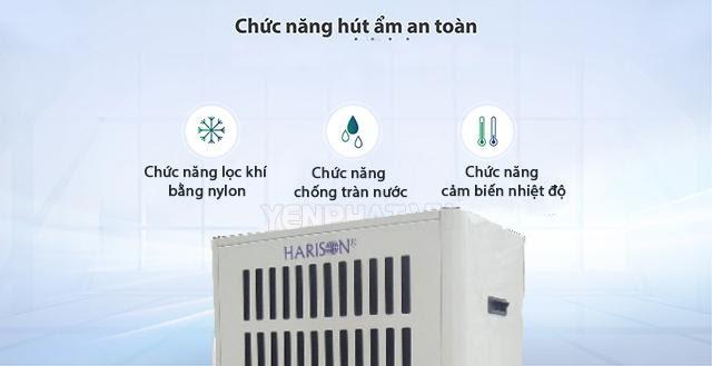 máy hút ẩm Harison kết cấu chắc chắn