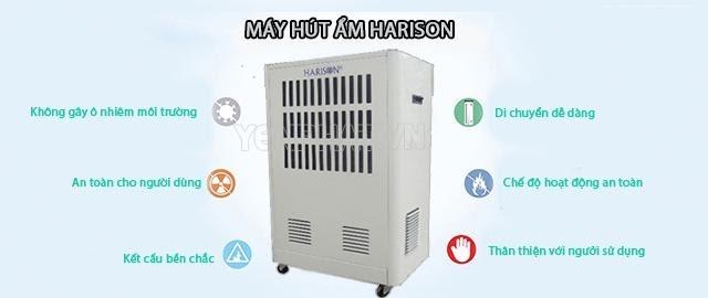 máy hút ẩm Harison đa chức năng