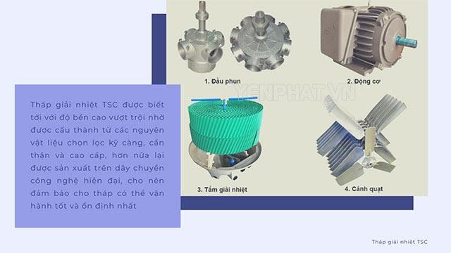 phụ kiện tháp giải nhiệt TSC