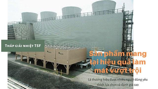 ưu điểm tháp giải nhiệt công nghiệp TSF