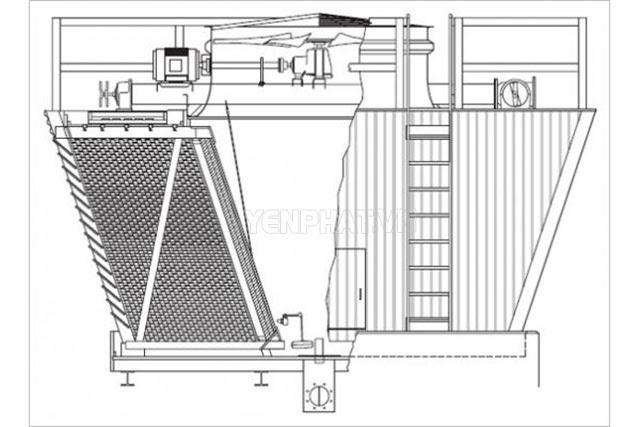 tháp giải nhiệt nước TSM