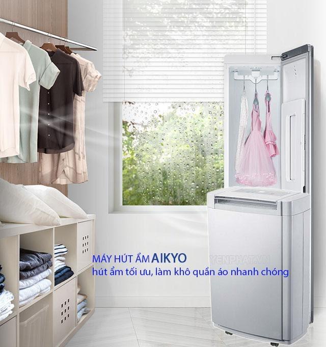 máy hút ẩm Aikyo hút ẩm tốt