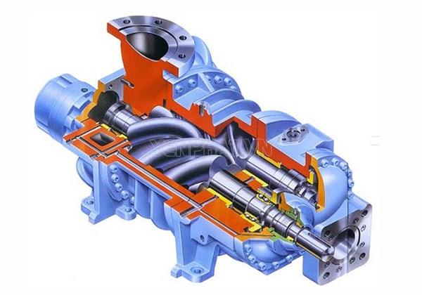 máy nén khí trục vít Puma