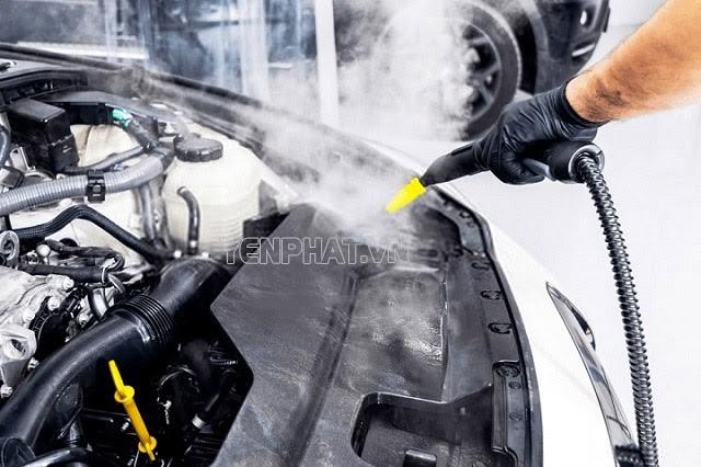 Ưu điểm nổi bật của máy rửa xe hơi nước nóng
