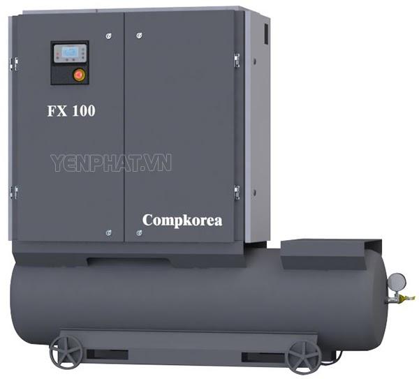máy nén khí compkorea FX100