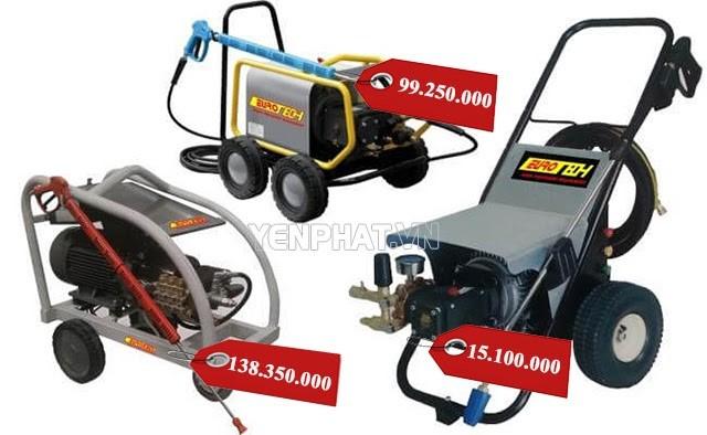 Giá máy khá cao so với thương hiệu khác nhưng chất lượng được đảm bảo