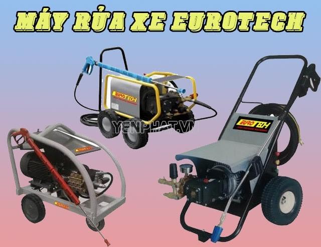 Máy rửa xe thương hiệu Eurotech
