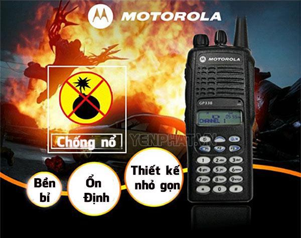 Máy bộ đàm Motorola là một trong những cái tên nổi bật tại thị trường Việt Nam