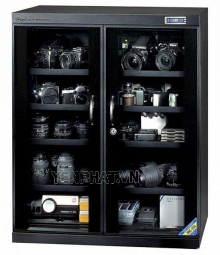 Tủ chống ấm cho máy ảnh được thiết kế chắc chắn, hiện đại