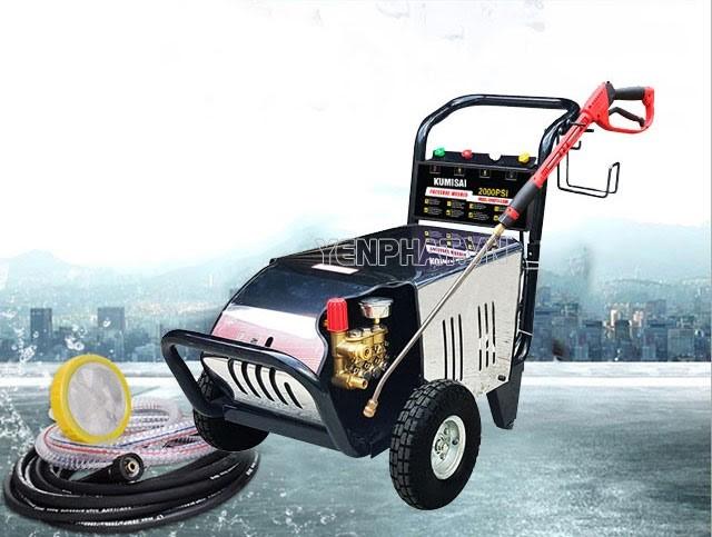 Đôi nét về máy rửa xe Kumisai