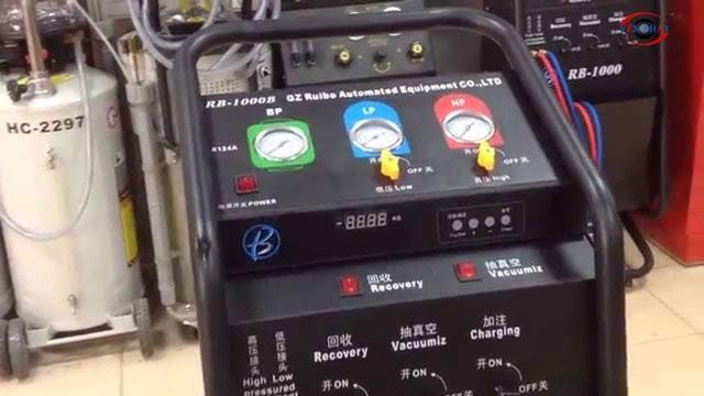 Máy thu-nạp gas lạnh có nhiều công dụng rất hữu ích