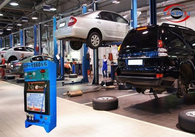 Máy tạo khí nitơ rất cần thiết cho các gara ô tô
